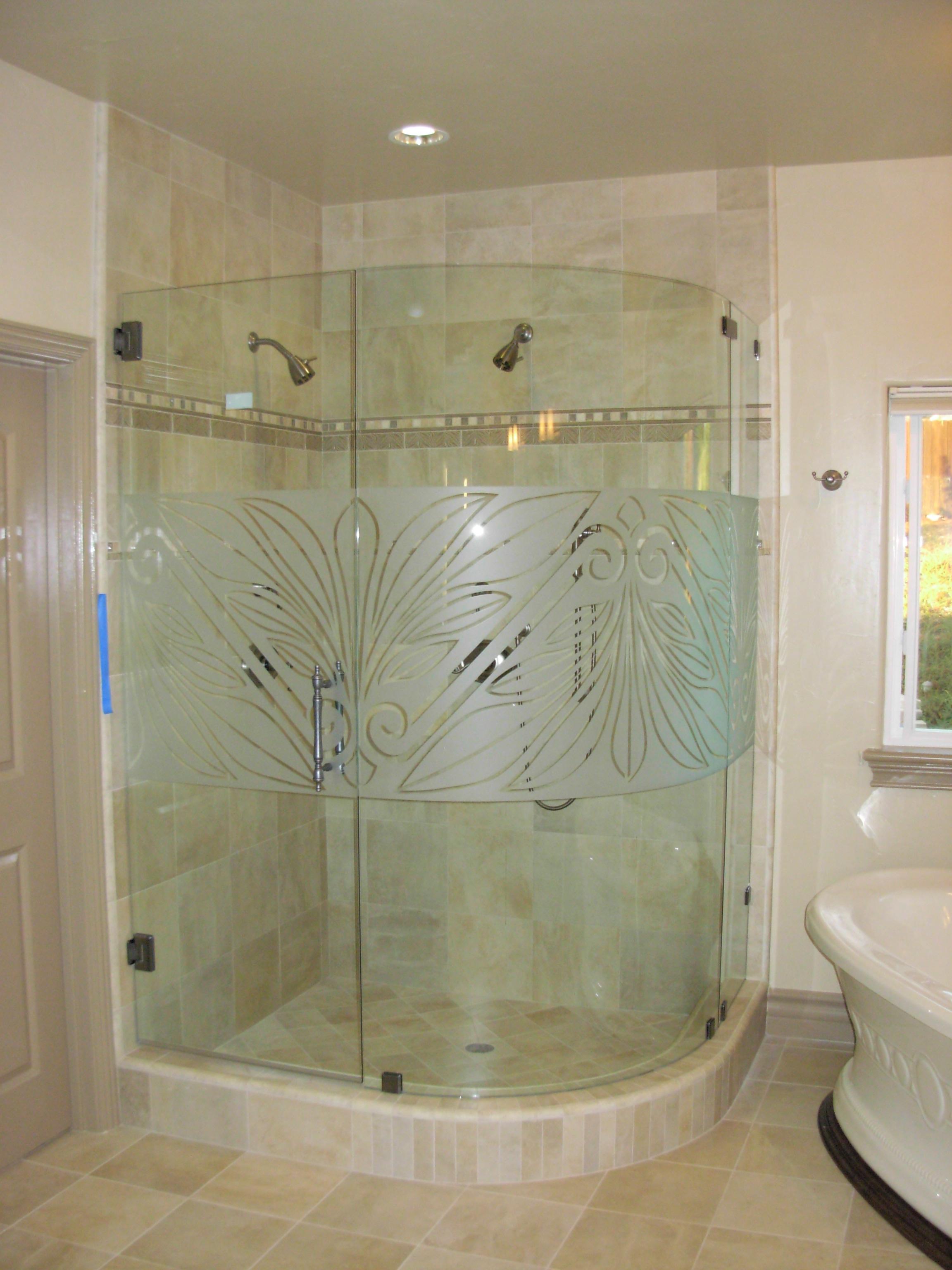 Custom Frameless Shower Enclosures Dick S Rancho Glass